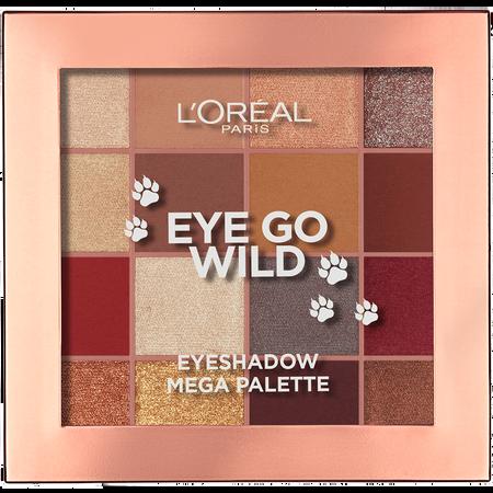 L'ORÉAL PARIS Mega Eyeshadow Palette Eye Go Wild