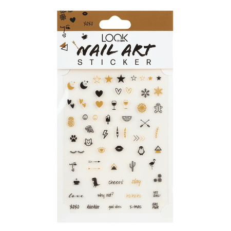 LOOK BY BIPA Nail Art Sticker