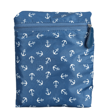 LOOK BY BIPA LBB Faltbare Tasche Shopper Anker Blau