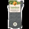 Bild: nur die Damen Bambus Komfort Socken anthrazit meliert