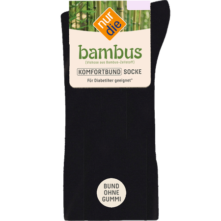 nur die Damen Bambus Komfort Socken