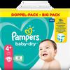 Bild: Pampers Baby-Dry Gr. 4+ (10-15kg) Doppelpack