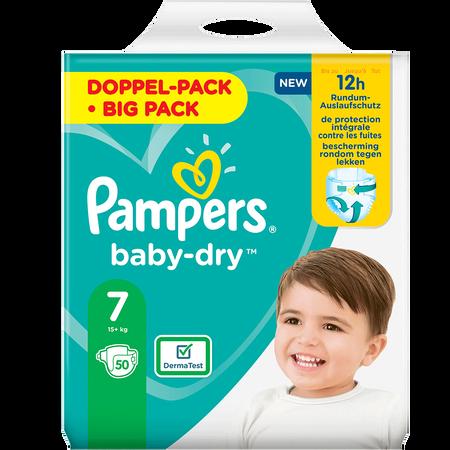Pampers Baby-Dry Gr. 7 (15+kg) Doppelpack
