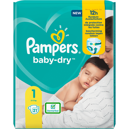 Pampers Baby-Dry Gr. 1 (2-5kg) Einzelpack