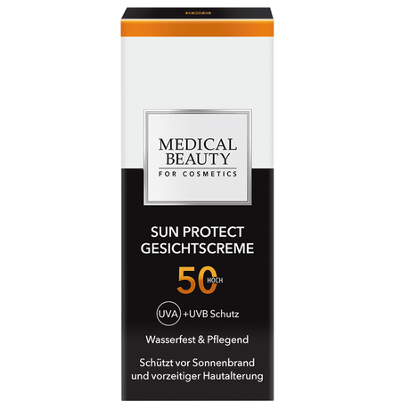 MEDICAL BEAUTY for Cosmetics Sun face cream LSF 50
