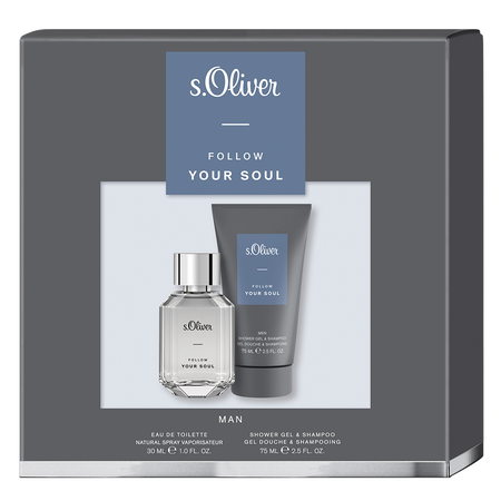 Bild: s.Oliver Follow Your Soul Men Eau de Toilette (EdT) Set  s.Oliver Follow Your Soul Men Eau de Toilette (EdT) Set