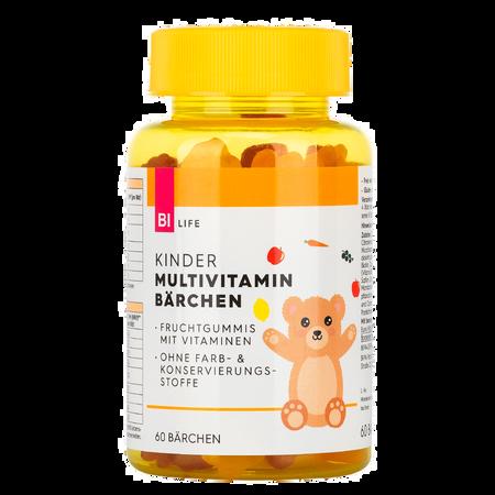 BI LIFE Multivitamin Fruchtgummis für Kinder