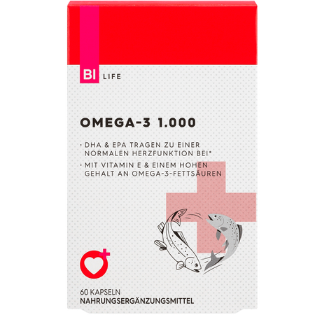 BI LIFE Omega 3 Fischöl