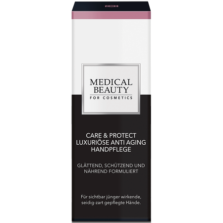 MEDICAL BEAUTY for Cosmetics Care & Protect Luxoriöse Anti Aging Handpflege