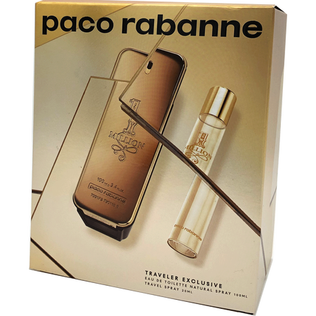 Paco Rabanne 1 Million Eau de Toilette (EdT) Set