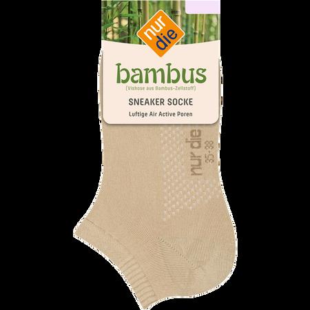 nur die Damen Bambus Air Comfort Sneaker Socken