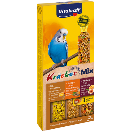 Vitakraft Original Kräcker Mix Trio Vögel