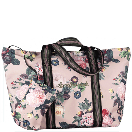 Lena Hoschek Tasche mit Blumenmuster Light Taupe
