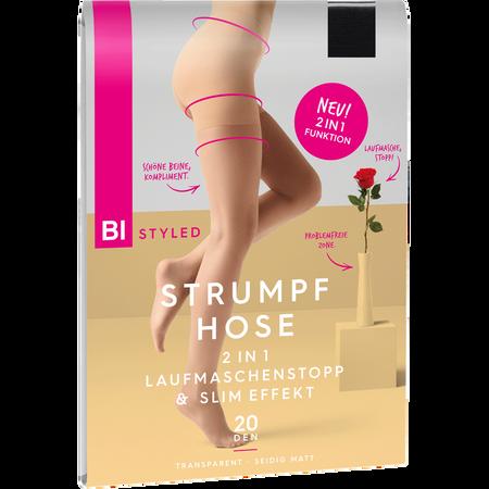 BI STYLED Laufmaschenstopp & Slim Effekt Strumpfhose