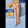 Bild: nur die Knie 2er Pack 20 DEN mandel