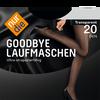 Bild: nur die Strumpfhose Goodbye Laufmasche 20 DEN schwarz