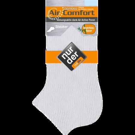 NUR DER Herren Bambus Air Comfort Sneaker Socken
