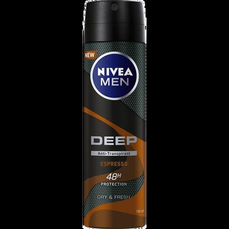 NIVEA MEN Deep Espresso Anti-Transpirant 48h