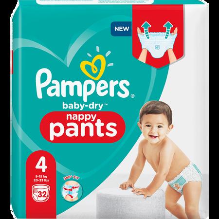 Pampers Baby-Dry Pants Gr. 4 (9-15kg) Einzelpack