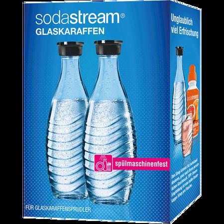 sodastream Glaskaraffen Duopack Crystal