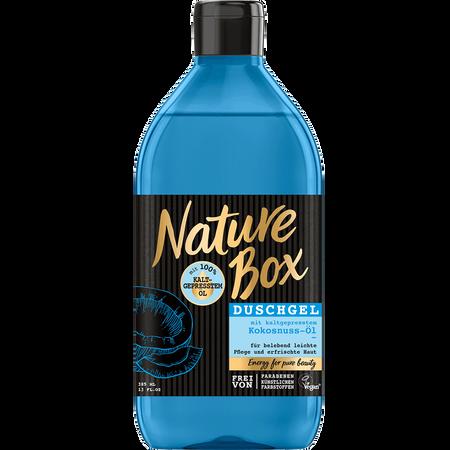Nature Box Duschgel Kokosnuss-Öl