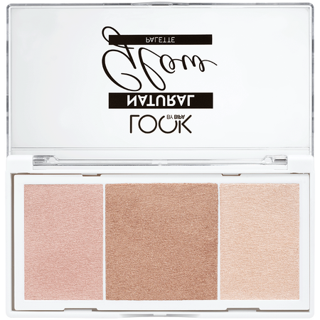 LOOK BY BIPA Natural Glow Palette