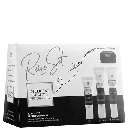 MEDICAL BEAUTY for Cosmetics Reiseset + gratis Kosmetiktasche