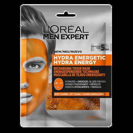 L'ORÉAL PARIS MEN EXPERT Hydra Energetic Gesichtstuchmaske