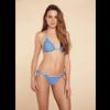 Bild: p2 Triangel Bikini Print blau