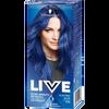 Bild: Schwarzkopf LIVE Ultra Brights or Pastel Haarfarbe electric blue