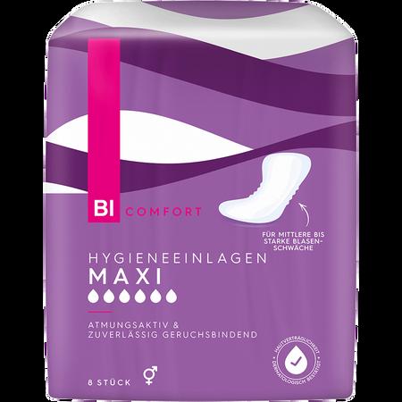 BI COMFORT Hygiene Einlagen Maxi