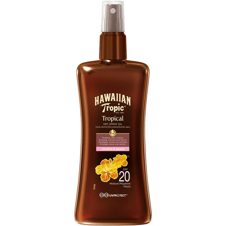Hawaiian Tropic Tropical Dry Spray Oil LSF 20