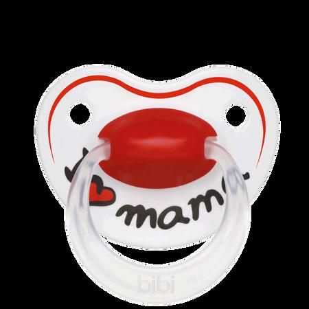 Bibi Beruhigungssauger I Love Mama 16+ Monate