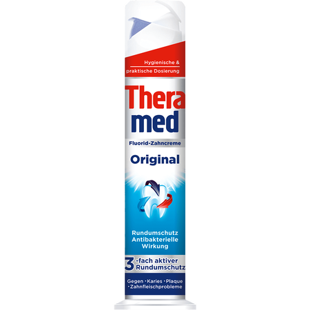 Theramed Original Fluorid-Zahncreme Spender