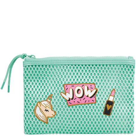 LOOK BY BIPA Mesh Clutch mint