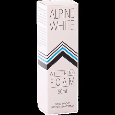 Alpine White Whitening Foam 2in1 Zahnpasta und Mundspülung