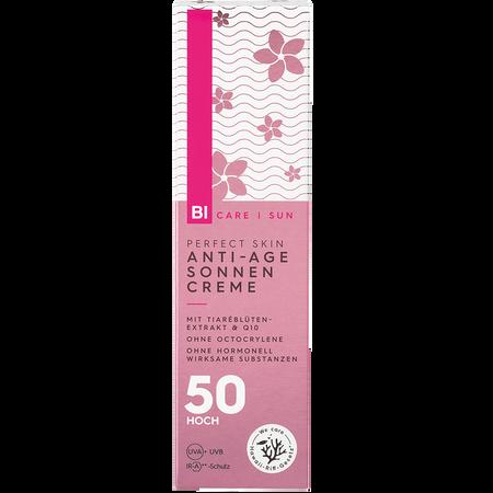 BI CARE Perfect Skin Anti-Age Sonnencreme LSF 50
