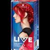 Bild: Schwarzkopf LIVE Ultra Brights or Pastel Haarfarbe pillar box red