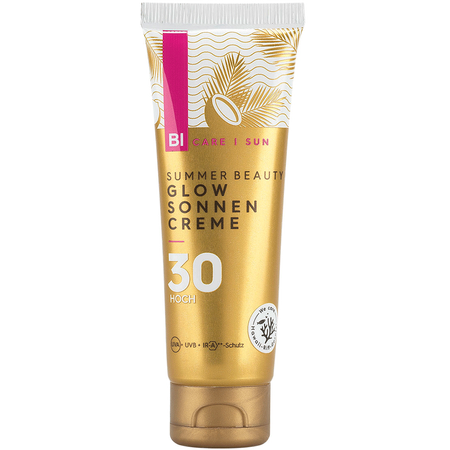 BI CARE Summer Beauty Glow Sonnen Creme LSF 30