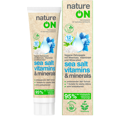 nature ON Zahnpasta Sea Salt Vitamins & Minerals