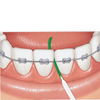 Bild: GUM Access Floss Zahnseide mit Einfädelhilfe