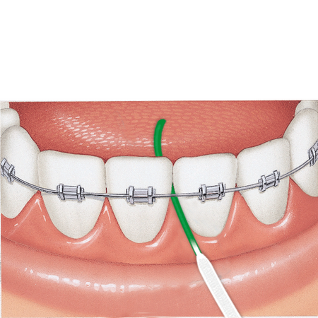 GUM Access Floss Zahnseide mit Einfädelhilfe