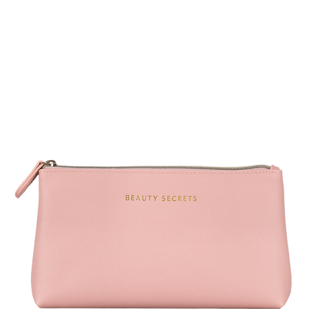 LOOK BY BIPA LBB Beautycase Rosa mit Fach transparent