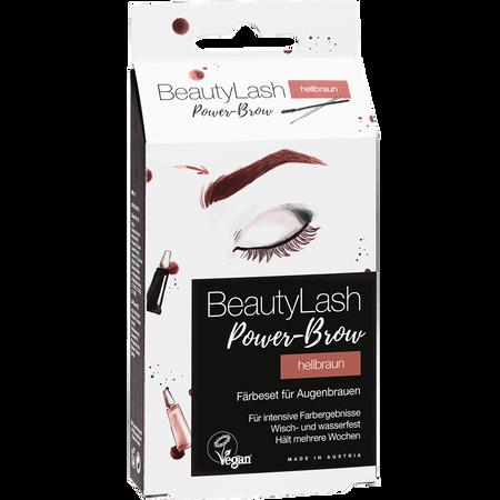 Bild: BeautyLash Power Brow Färbeset für Augenbrauen hellbraun BeautyLash Power Brow Färbeset für Augenbrauen