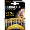 Bild: DURACELL Plus Power Alkaline AAA Batterien
