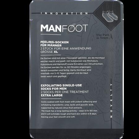 MANFOOT Peeling-Socken für Männer