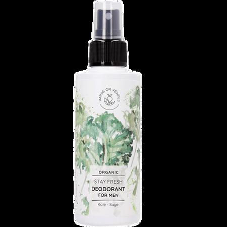 Bild: Hands on Veggies Bio Deodorant for Men Grünkohl & Salbei  Hands on Veggies Bio Deodorant for Men Grünkohl & Salbei