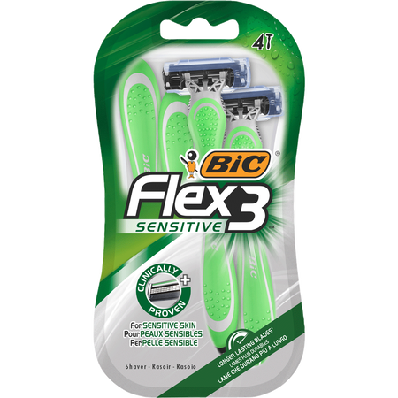 BIC Flex 3 Sersitive Rasierer