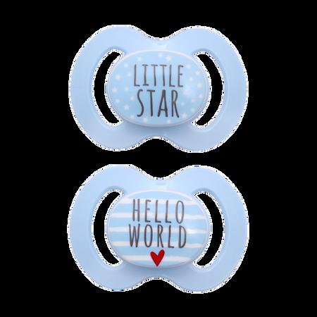BABY-NOVA Schnuller Symmetrisch Gr. 1