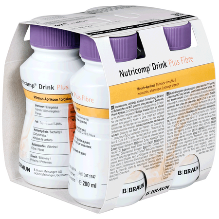 Nutricomp Plus Pfirsich Drink